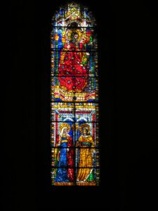 The #stainedglass in #Italy is enough to leave you speechless!  #Florence #travel #art #churches