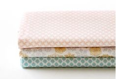 Snowflake  Quarter Fabric Pack 3 Fabric 1 set  by luckyshop0228, $11.00
