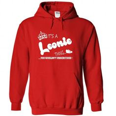 Its a Leonie Thing, You Wouldnt Understand !! Name, Hoo - #love gift #gift for kids. SECURE CHECKOUT => https://www.sunfrog.com/Names/It-Red-22284848-Hoodie.html?68278