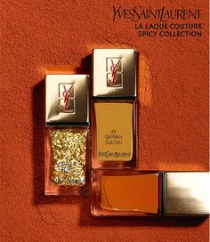 YSL La Laque Couture Spicy Collection Spring 2014 ( Bliqx.net )