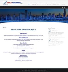 IMPILO Recruitment - Designed & Maintained by HB WEB