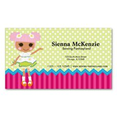 Sold this #sewing #doll business card to FL. tx for your purchase.