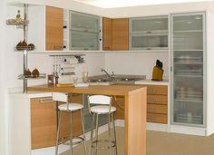 moveis planejados cozinha madeira