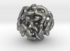 3D printed metal design by mindeversion on Shapeways.com