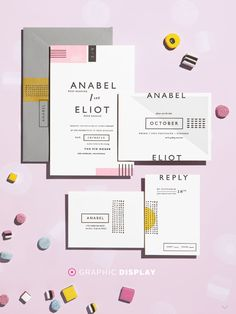 Good colors and invite suite