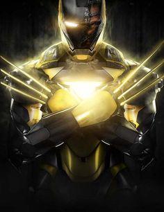 Artista cria fusões do Homem de Ferro com ícones da cultura pop! - Legião dos Heróis