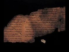 Dead Sea Scrolls discovery: Tech reveals hidden script Experts in Israel have harnessed sophisticated imaging technology to reveal hidden script in the Dead Sea Scrolls. Dead Sea Scrolls, Bible Lessons, Archaeology, Israel, Psalm 147, Psalms, Script, Discovery, Tecnologia