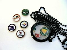 Fun sports jewelry for affordable Holiday gifts!  SportsJewelryStudio on Etsy.   Etsy.com/shop / sportsjewelrystudio.   #EtsyGifts