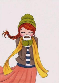 Nothinh better than a coffee to warm your soul when its cold out!