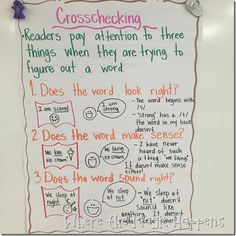 Five for Friday  {Anchor Chart Edition} and a FREEBIE!