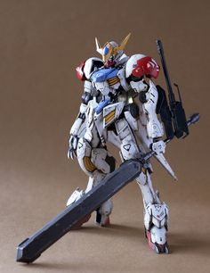HG 1/144 Gundam Barbatos Lupus - Painted Build     Modeled by ITTA