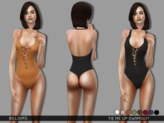 TSR : Tie me up Swimsuit by Bill Sims.