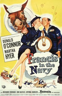 Francis in the Navy (1955) Donald O'Connor, Martha Hyer