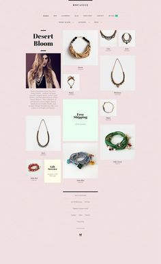 Rocaille #shop #fashion. If you like UX, design, or design thinking, check out theuxblog.com