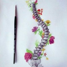 Wow #escoliosis #scoliosis #drawing #dibujo