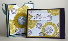 Stampin' Up! Lacy & Lovely Card Set  http://www.elainescreations.blogspot.com/2012/07/july-stamp-class-lacey-lovely-card-set.html