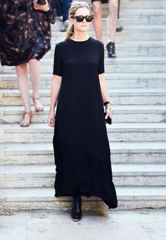 // black dress
