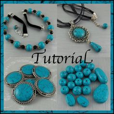 Fabulous Faux Turquoise by cjoygood | ClayLessons.com