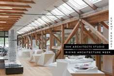 We toured the incredible Copenhagen studios of 3XN architects and their research arm GXN, set in a historical canon boathouse dating back to 1826.