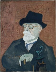 Milton Avery (American, 1885–1965). Dikran G. Kelekian, 1943. The Metropolitan Museum of Art, New York. Gift of Nanette B. Kelekian, 1998 (1998.400.1) #mustache #movember