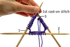 How to Knit in the Round on Double-Pointed Needles - For Dummies