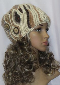 Crochet beanie with brim style 57 ideas Crochet Dolls Free Patterns, Crochet Headband Pattern, Crochet Blanket Patterns, Crochet Hat With Brim, Crochet Baby Boots, Crochet Hats, Knitted Slippers, Knitted Hats, Crochet Dress Outfits