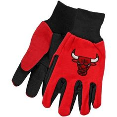 McArthur Chicago Bulls Two-Tone Utility Gloves for $6.95