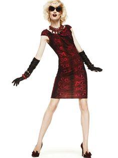 Melissa Tammerijn and Samantha Gradoville for Roberto Cavalli Fall 2012 Collection Lookbook