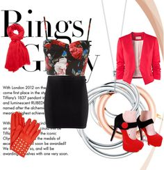 """""""Rings of Glory"""" by sofiavictoria55 ❤ liked on Polyvore"""