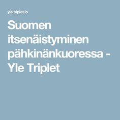 Suomen itsenäistyminen pähkinänkuoressa - Yle Triplet Triplets, Finland, Nostalgia, Classroom, Teaching, Kids, Historia, Class Room, Young Children
