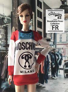 Mini Dress for Fashion Royalty FR2 Fr Barbie Poppy Parker and 1 6 Scale Doll | eBay