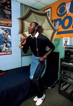Casual portrait of North Carolina Michael Jordan dancing with. Michael Jordan Unc, Michael Jordan Pictures, Jeffrey Jordan, Michael Jordan Basketball, Jordan 23, Jordan Logo, Michael Jordan Tattoo, Basketball Legends, Basketball Players