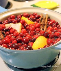 stove top Christmas potpourri - smells just like Christmas and lasts for a week
