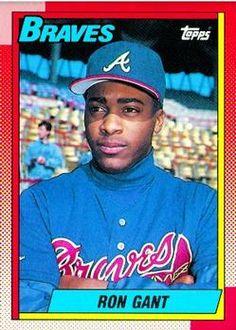 40 Best 1990 Topps Atlanta Braves Images In 2012 Baseball
