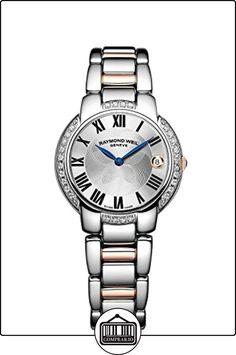 Raymond Weil 5229-S5S-00659 - Reloj de pulsera mujer, acero inoxidable  ✿ Relojes para mujer - (Lujo) ✿