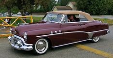 1951 Buick Special Convertible #vintagecars
