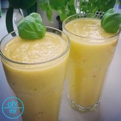 Koktajl Ananasowy. Smoothie Drinks, Detox Drinks, Healthy Drinks, Smoothies, Healthy Recipes, Lunch Box, Food And Drink, Health Fitness, Appetizers