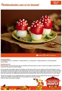 Paddenstoelen van ei en tomaat - Lidl Nederland