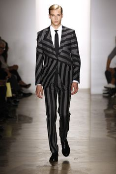 Simon Spurr Spring 2012 Menswear Collection