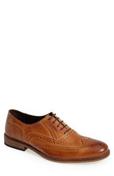 Free shipping and returns on Dune London 'Braker' Wingtip (Men) at Nordstrom.com. Burnished leather completes the timeless look of a heritage-inspired oxford shoe clad in bold wingtip panels.