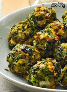STOVE TOP Spinach Balls #recipe
