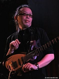 Jazz guitarist Nguyen Le is based in Paris - his music incorporates jazz with traditional Vietnamese music.