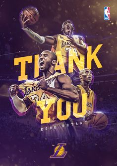 Thank you, kobe! on behance. thank you, kobe! on behance graphic design posters, sports Bryant Basketball, Kobe Bryant Nba, Basketball Art, College Basketball, Basketball Players, Poster Design, Graphic Design Posters, Art Football, Wallpaper Collage