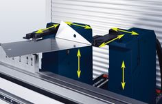 """""""The control system is what differentiates one gauging setup from another,"""" explained LVD Strippit Bending Product Sales Manager Paul LeTang. """"The backgauge itself has not changed much in years. [It's] the human interface where most of the return on investment is seen now."""""""