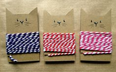 What an adorable idea!! http://melanie-mijnknutsels.blogspot.nl/2014/02/snail-mail.html