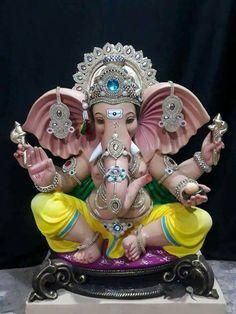 Make this Ganesha Chathurthi 2020 special with rituals and ceremonies. Lord Ganesha is a powerful god that removes Hurdles, grants Wealth, Knowledge & Wisdom. Ganesha Drawing, Lord Ganesha Paintings, Shri Ganesh Images, Ganesha Pictures, Ganesh Aarti, Ganpati Bappa Wallpapers, Clay Ganesha, Happy Ganesh Chaturthi Images, Ganesh Lord