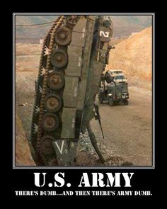 Find very good Jokes, Memes and Quotes on our site. Keep calm and have fun. Funny Pictures, Videos, Jokes & new flash games every day. Military Jokes, Military Life, Military Tank, Army Humor, Army Memes, Military Surplus, Funny Photos, Cool Photos, Amazing Photos