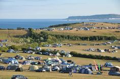 Eweleaze Farm campsite on the South Coast near Weymouth offers tent camping during August. Facilities include private beach, access to SW Coast Path, fires, barbeques, bbq, sauna, spa, pets, children.