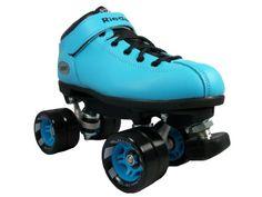 Riedell Dart Skates - Dart Ice Blue Speed Skates - Dart Quad Skates ** Read more  at the image link.