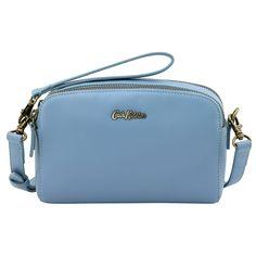 Mini Leather Double Zip Bag   View All   CathKidston